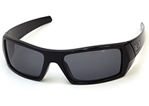 POLARIZED GASCAN��Polished Black/Grey Polarized��