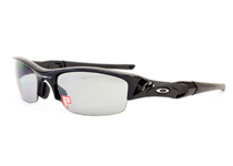 FLAK JACKET ��Jet Black/ Light Grey Polarized��
