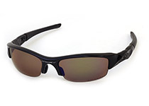 FLAK JACKET ��Jet Black/Shallow Blue Polarized��