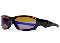 Straight Jacket��Polished Black/ Shallow Blue Iridium Polarized��