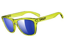 Frogskins ��Acid Yellow/Ice Irid Polar�� US FIT