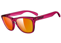 Frogskins ��Acid Pink/Fire Irid Polar�� US FIT