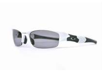 FLAK JACKET ��Polished White/Light Grey Polarized��