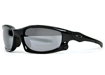 Split Jacket ��Polished Black/Black Iridium Polarized��