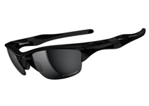 HALF JACKET 2.0 ��Polished Black/Black Iridium Polarized��(ASIAN FIT)