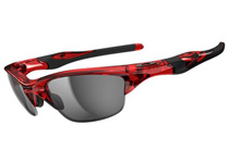 HALF JACKET 2.0 ��Crystal Red/Light Grey Polarized�� (ASIAN FIT)