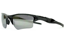 HALF JACKET 2.0 XL ��Polished Black/Black Iridium Polarized��