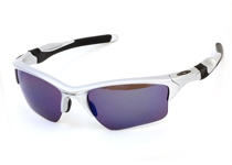 HALF JACKET 2.0 XL��Silver/G30 Iridium Polarized��