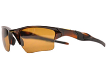 HALF JACKET 2.0 XL��Polished Rootbeer/Bronze Polarized��