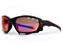 RACING JACKET ��Matte Black Ink/OO Red Iridium Polarized & Clear��